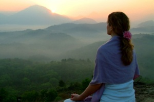 meditating-sunrise-natural-living