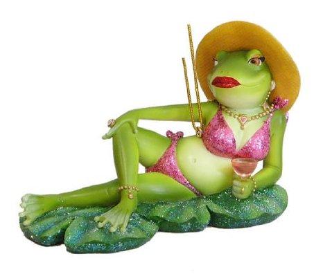 frog relaxing