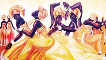 Nigerian dancing