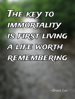 Key to immortality