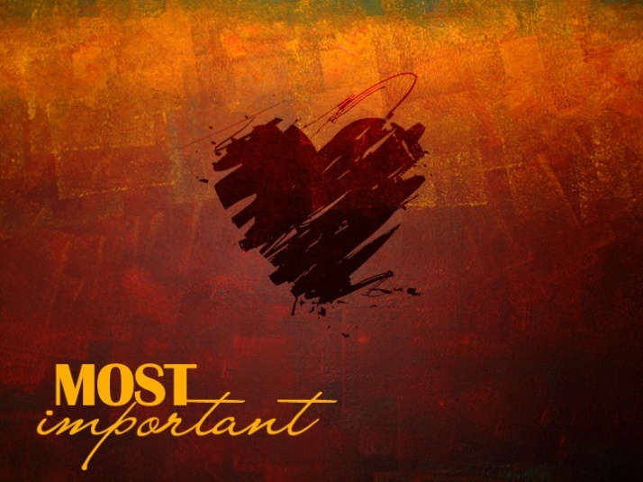Love most important