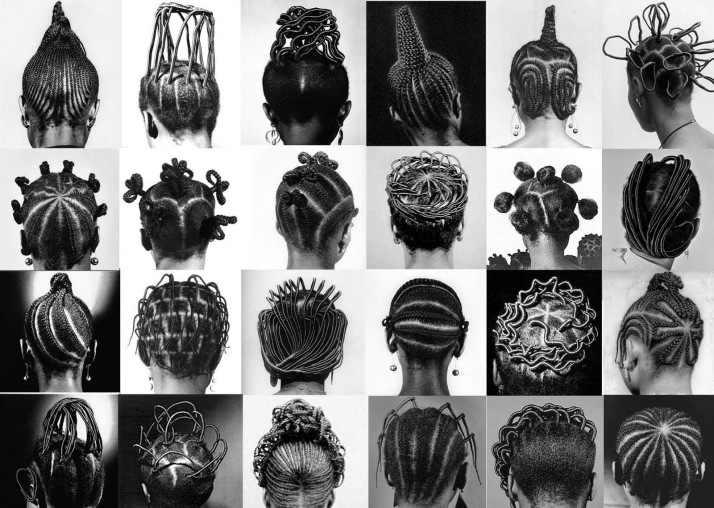 Some of the hairstyles back then.
