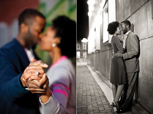 Black couples in love