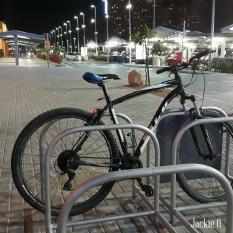 A riderless bike.