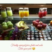 Fruity and Drinks