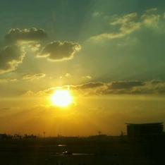 Gorgeous sunset