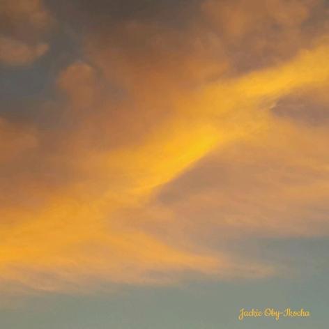 Painted skies before dark