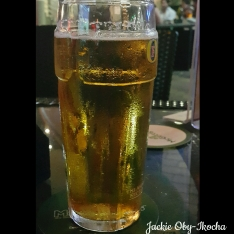 A cool glass of beer