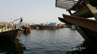 Dhows, abras, a mix of many