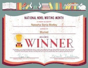 NANOWRIMO 2015 GOAL ACHIEVED