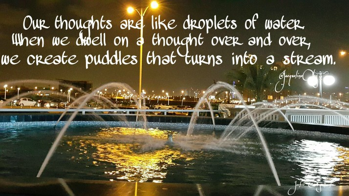 Fountain of thoughts.
