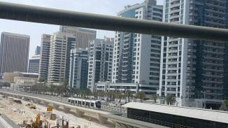 A view of the tram below