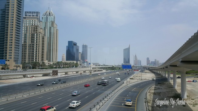 A snip of Sheikh Zayed Road