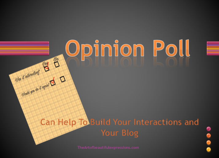 Opinion Polls, Create Poll, Polldaddy, Surveys, Grow Blog , WordPress.com, WordPress.org, enhance blog, audience interaction
