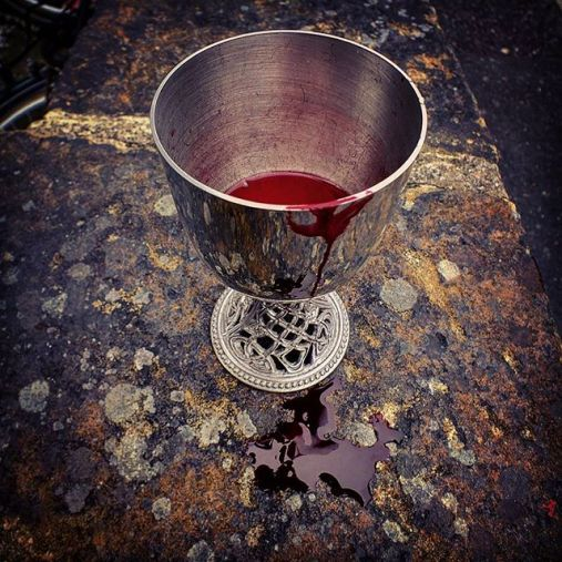 Image result for Images of bloody chalice