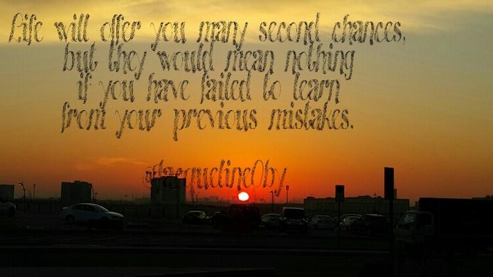 Second Chances, Experiences