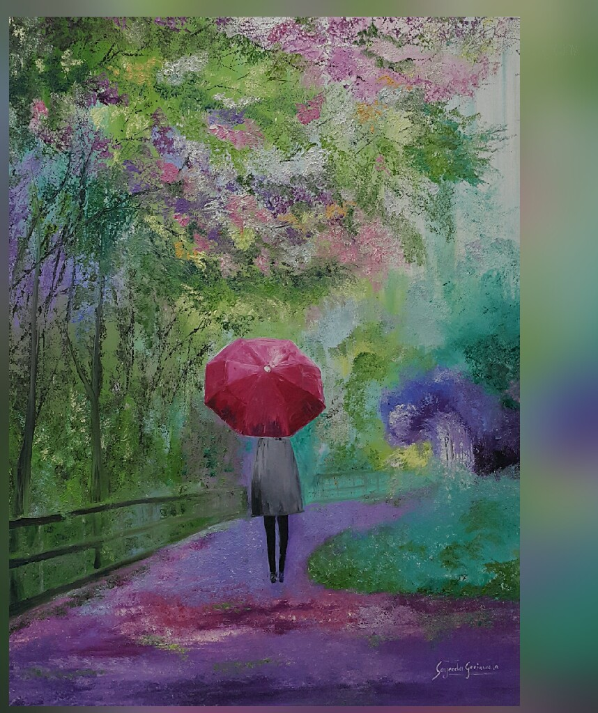 Painting, Art, Spring, Beautiful Colours