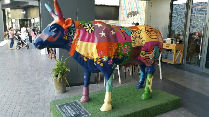 Cow, Painted, Artistic, Beautiful