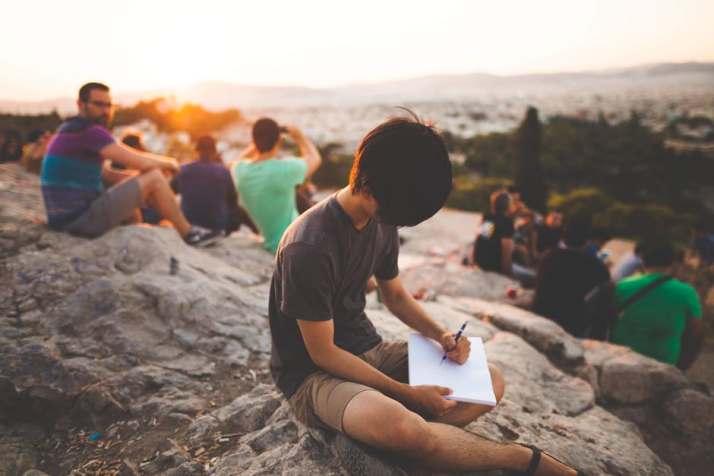 Writer, Free write, scribbling