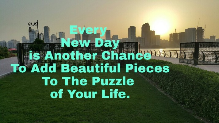 Quote, Puzzle, Beautiful Life, Every Day