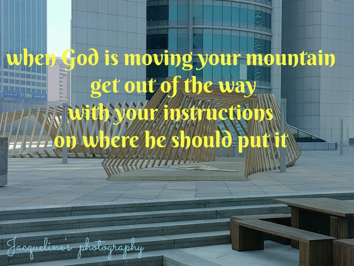 Quote, God's Love, Moving Mountains
