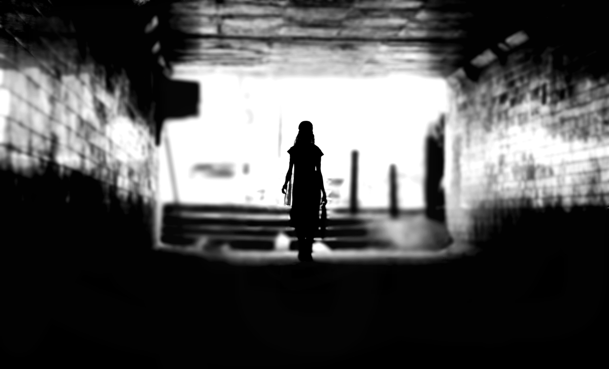 Dark, Deep, Light, Tunnel, Haiku