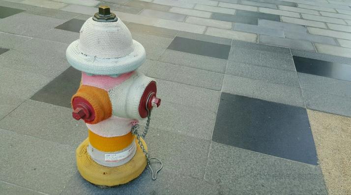 Firemen, Doily, hydrant