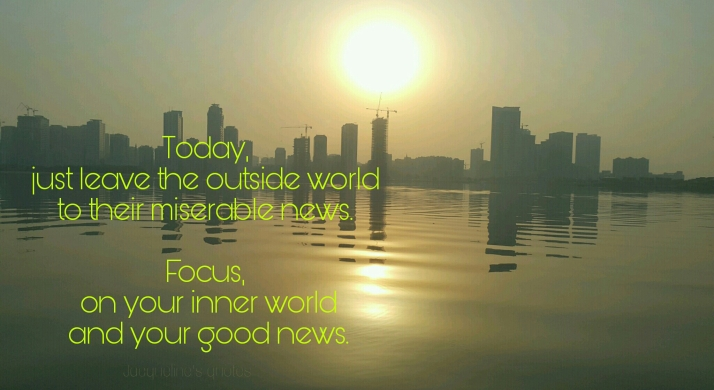 Today, Good News, World, News, You, Quote