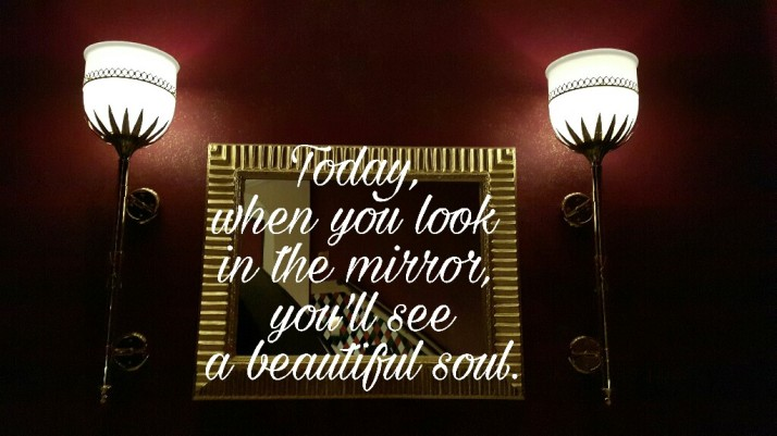 Today, Beautiful, Positive Quotes, Self Love, Reflection, Mirror