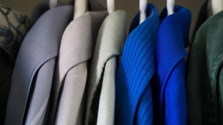 Closet, Arranged, Clothes, Declutter, Suits, Tidy