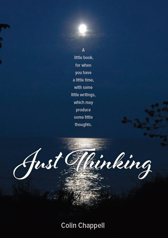 Just Thinking, Collin Chappell, Poetry Book, Author Zone