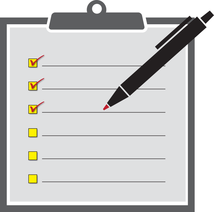 To-Do Check List, Declutter, Efficiency, Organised