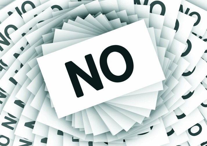 Saying No, No, It's Okay To Say No, Declutter