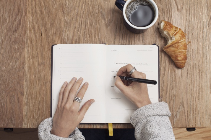 Coffee, Write, Table, Notebook, Inspiration