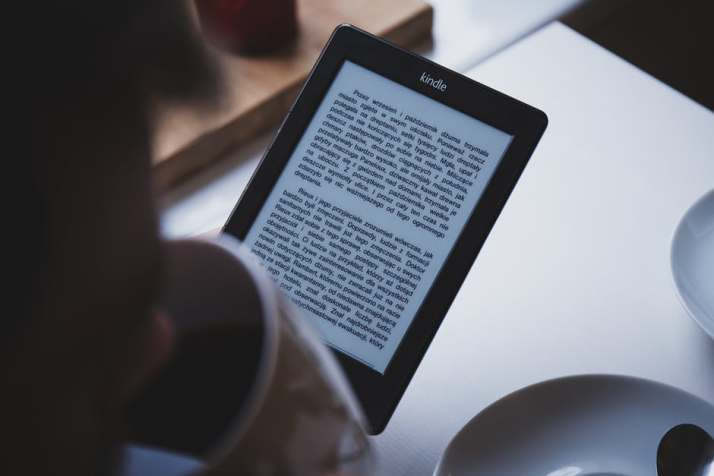 Reading, Digital Reading, Kindle