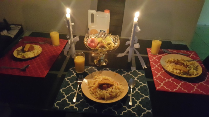 Candle Lit Dinner, Made With Love, Food, Children, Cooking, Parenting, Family