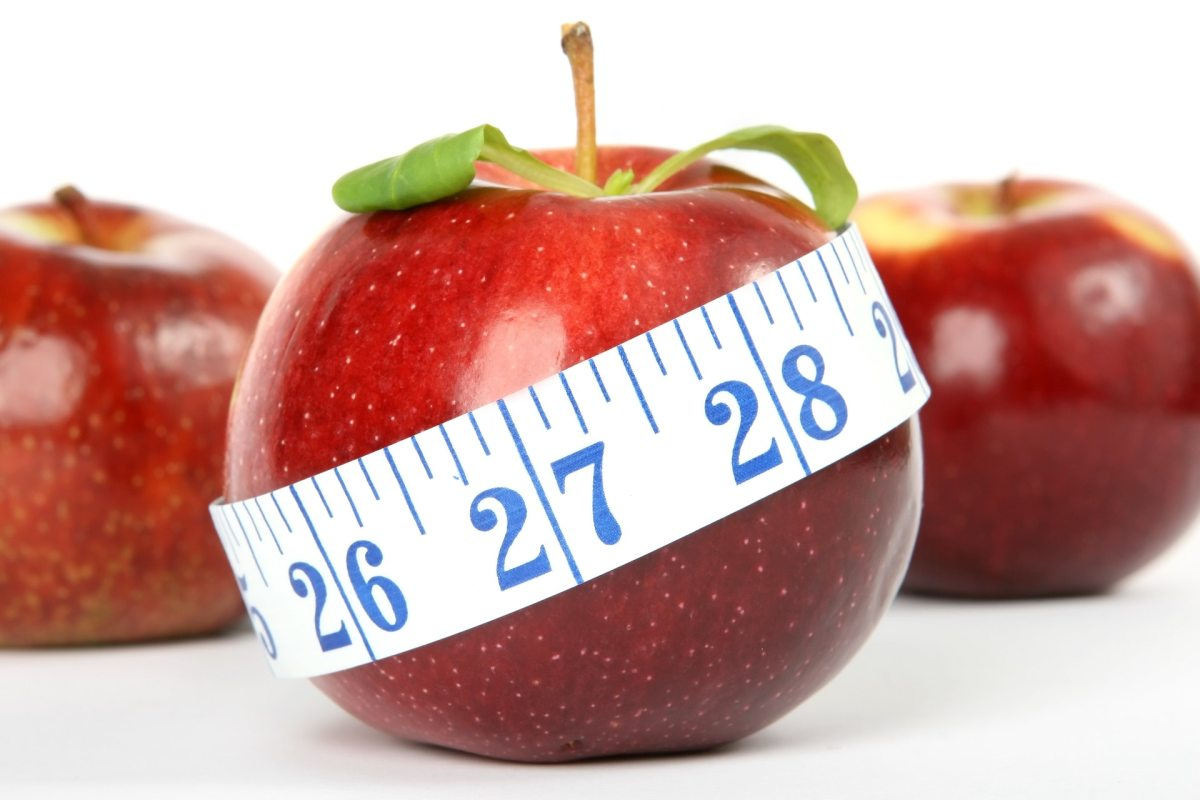 Healthy living, measuring tape, weightloss