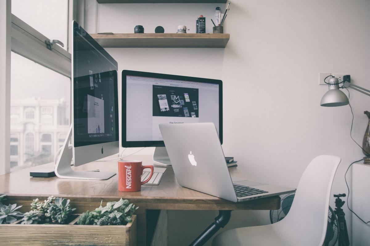 Blogging, Personal Space, Laptop