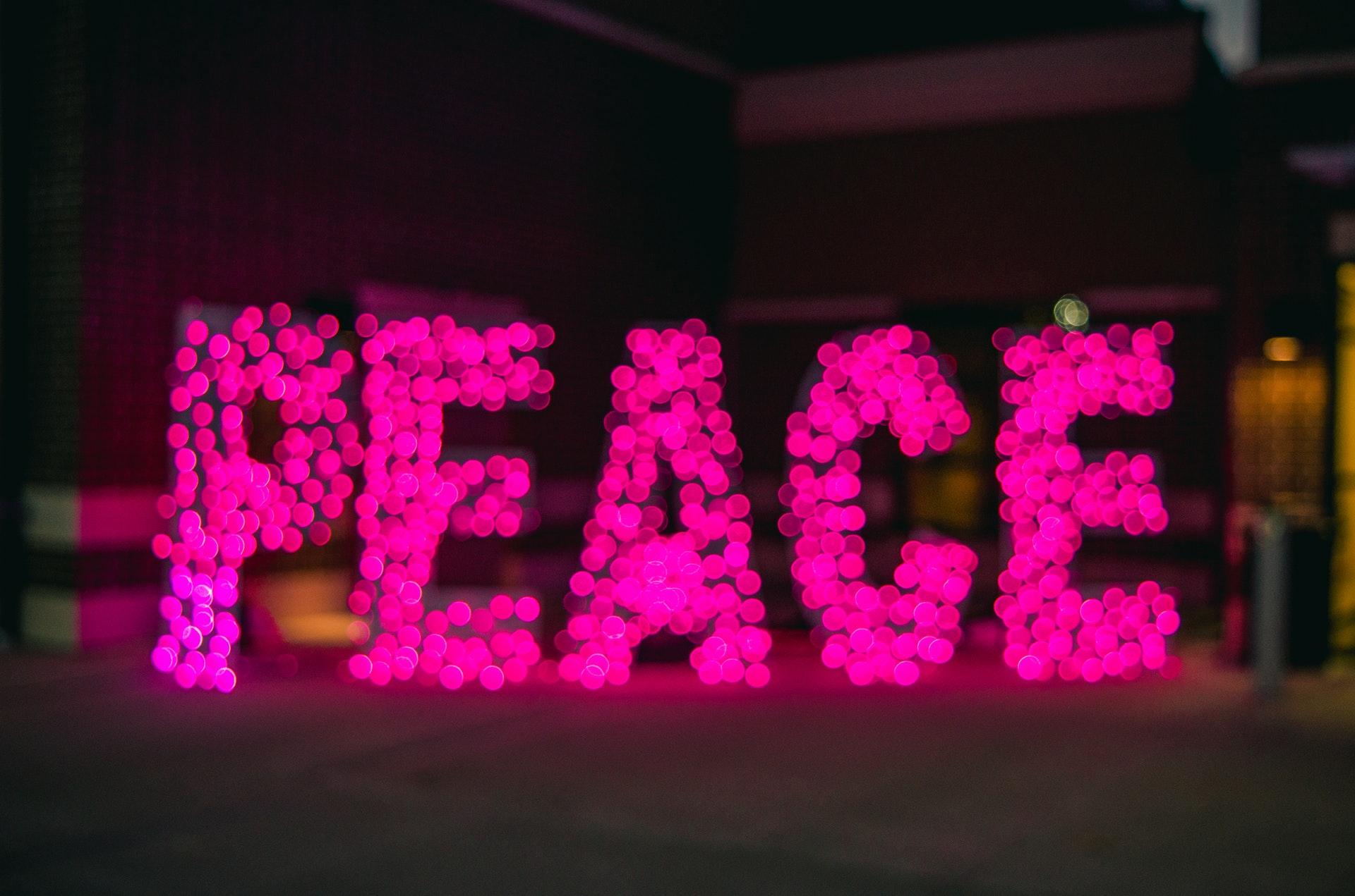 Peace, Haiku
