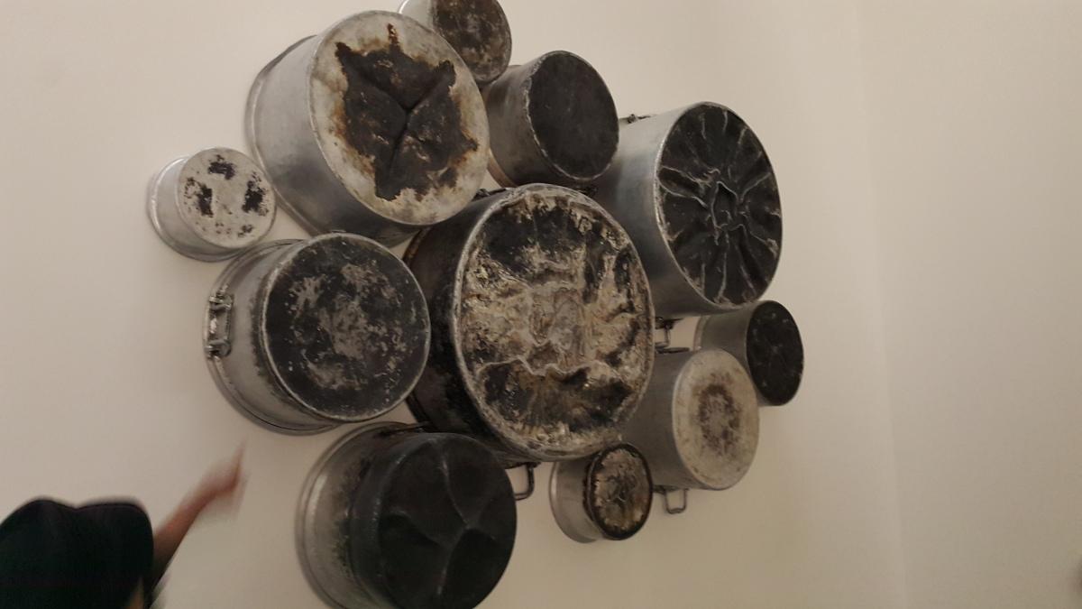 Kitchen Utensils, Art, Murals, Contemporary art, Beautiful things
