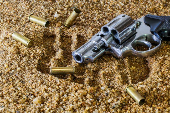 firearm, revolver, bullets, gun, shooting