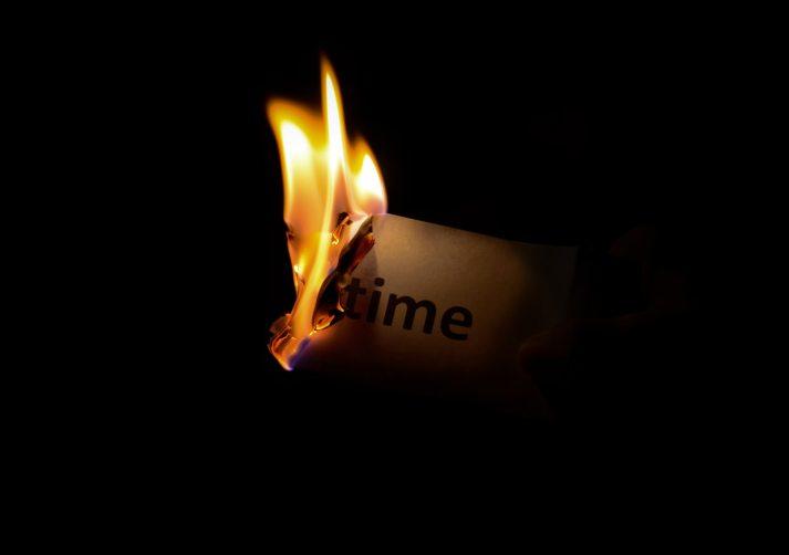 We Burn Time, Flame