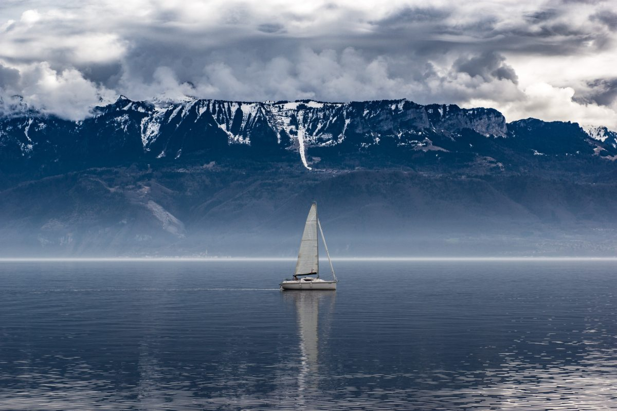 sea, waves, boat