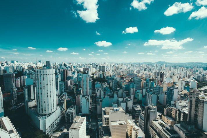 Sao Paulo, Brazil, Skyline, Travel