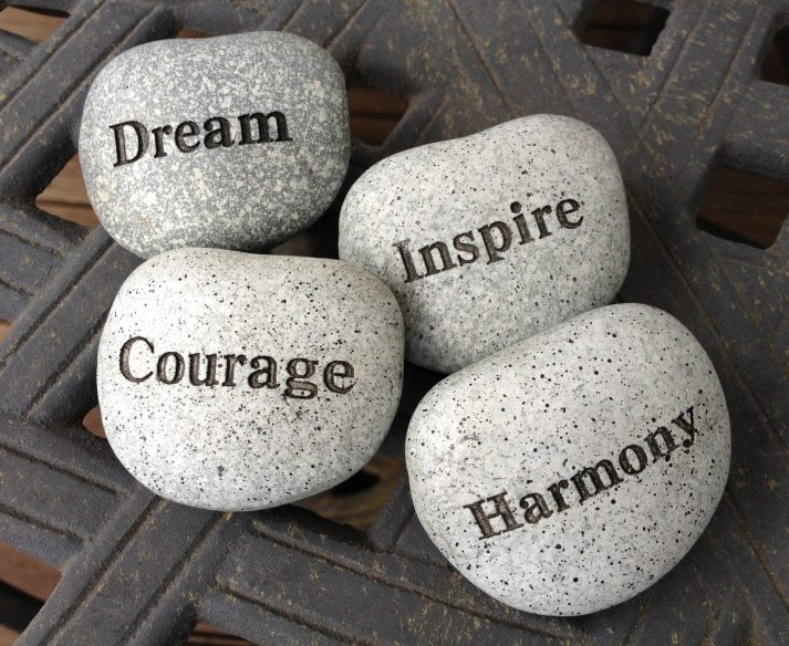 Mental Health, Creativity, Dream, Courage, Inspire, Harmony