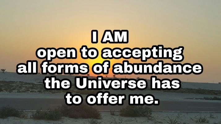 Abundance mentality